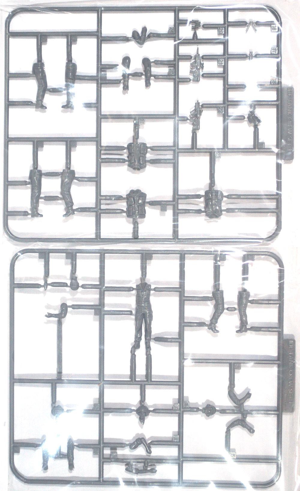 イスラエル 国防軍 タンククルーセット 1プラモデル(マックスファクトリーPLAMAXNo.35-002)商品画像_1