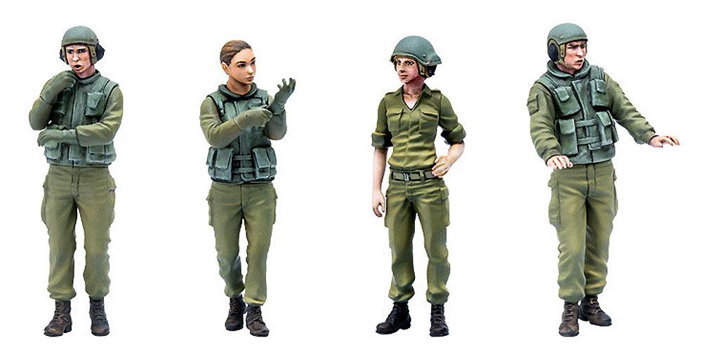 イスラエル 国防軍 タンククルーセット 1プラモデル(マックスファクトリーPLAMAXNo.35-002)商品画像_2