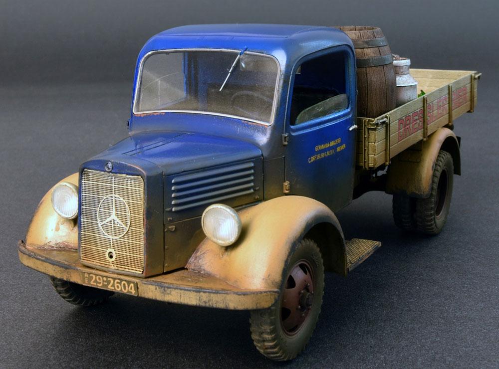 ドイツ カーゴトラック L1500S (飲料会社仕様)プラモデル(ミニアート1/35 ミニチュアシリーズNo.38014)商品画像_1