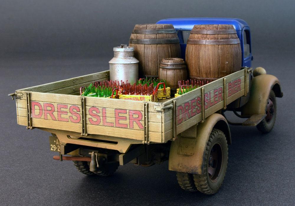 ドイツ カーゴトラック L1500S (飲料会社仕様)プラモデル(ミニアート1/35 ミニチュアシリーズNo.38014)商品画像_3
