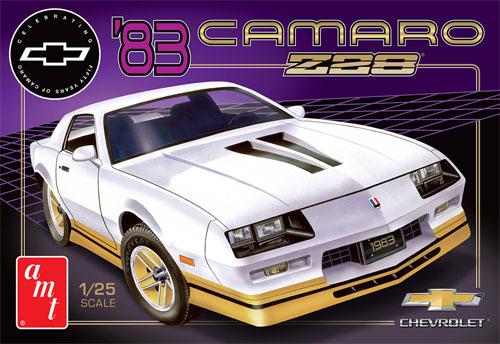 1983 カマロ Z28 (カマロ誕生50周年記念エディション)プラモデル(amt1/25 カーモデルNo.AMT1051/12)商品画像