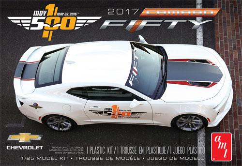 2017 シェビー カマロ 50周年記念モデル インディ500 ペースカープラモデル(amt1/25 カーモデルNo.AMT1059M/12)商品画像