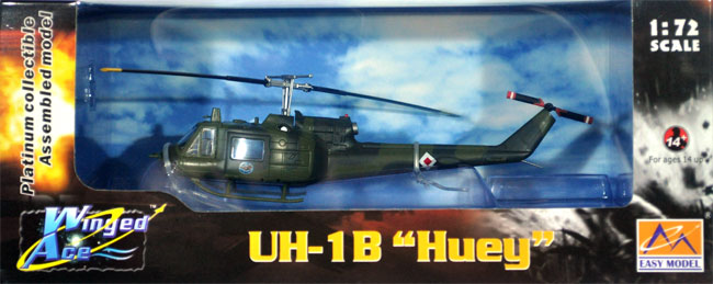 UH-1B アメリカ陸軍完成品(イージーモデル1/72 ウイングド エース (Winged Ace)No.36909)商品画像