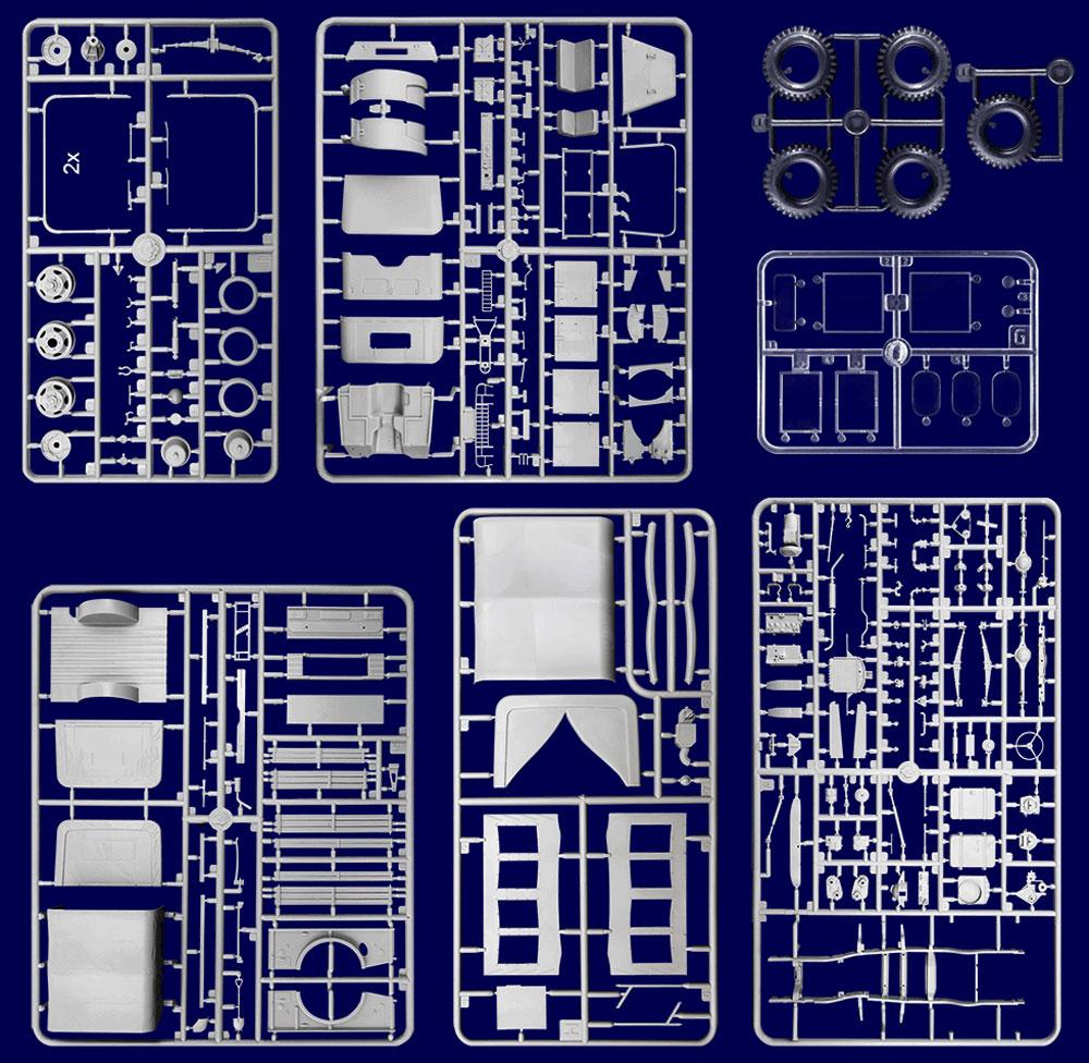 ダッジ M42 3/4t 4×4 コマンドトラックプラモデル(ローデン1/35 AFV MODEL KITNo.809)商品画像_1