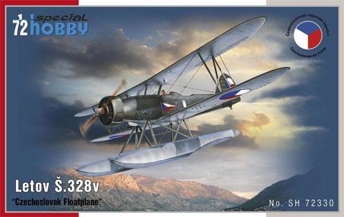 レトフ S.328v 水上機型プラモデル(スペシャルホビー1/72 エアクラフト プラモデルNo.SH72330)商品画像