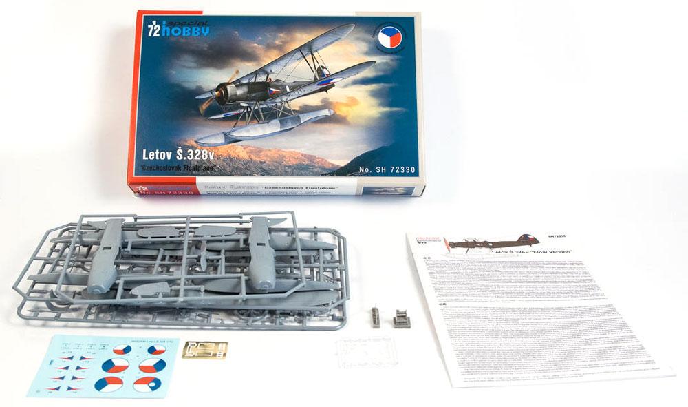 レトフ S.328v 水上機型プラモデル(スペシャルホビー1/72 エアクラフト プラモデルNo.SH72330)商品画像_1