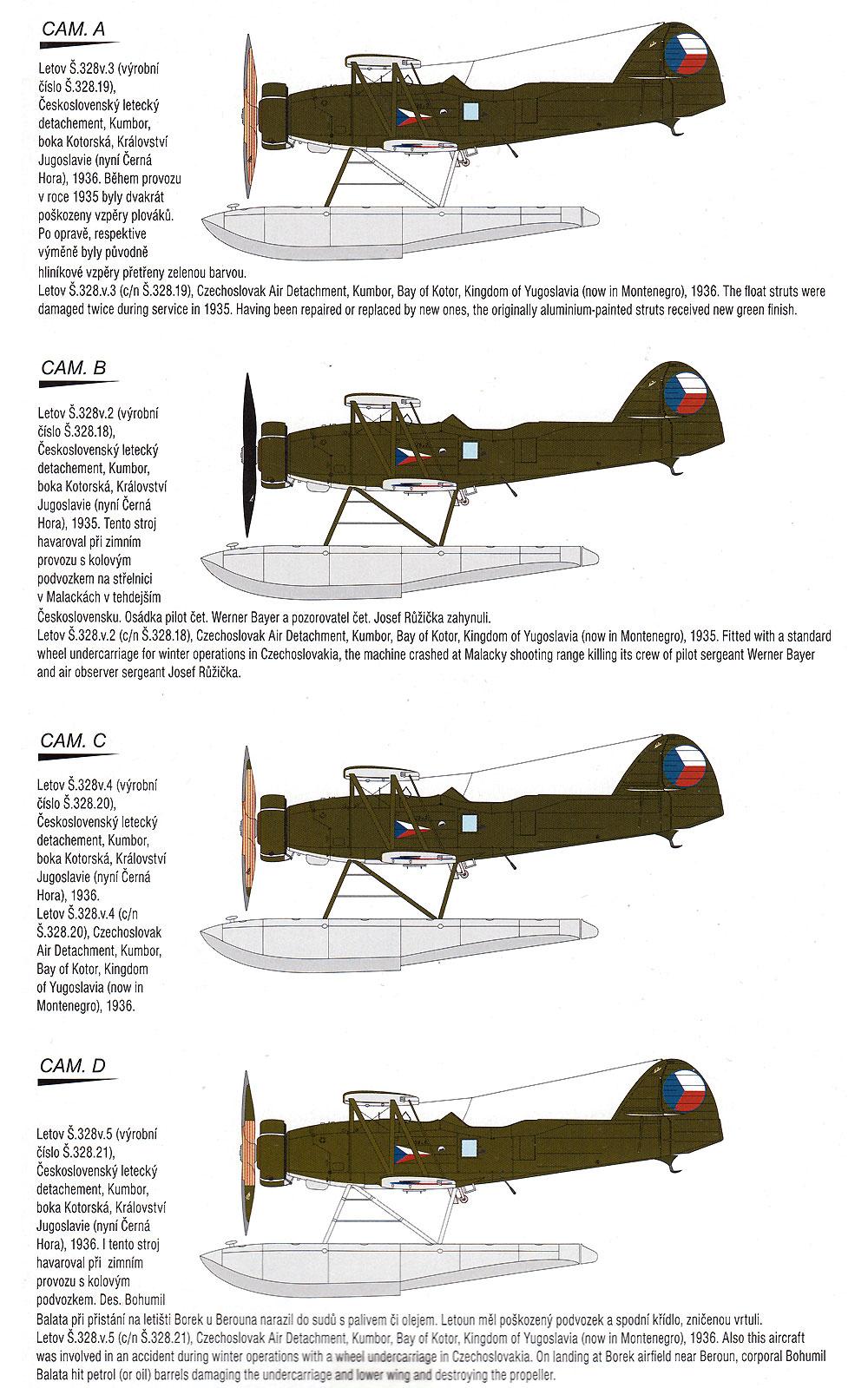 レトフ S.328v 水上機型プラモデル(スペシャルホビー1/72 エアクラフト プラモデルNo.SH72330)商品画像_2