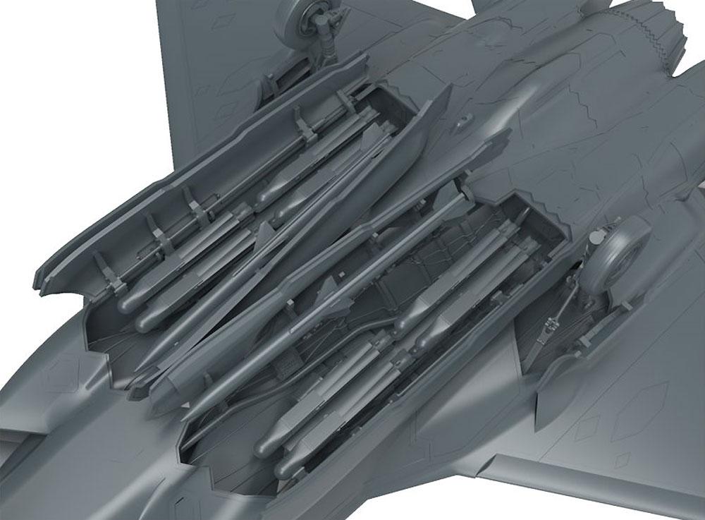 F-35A ライトニング 2 戦闘機プラモデル(MENG-MODELロンギセプス シリーズNo.LS-007)商品画像_3