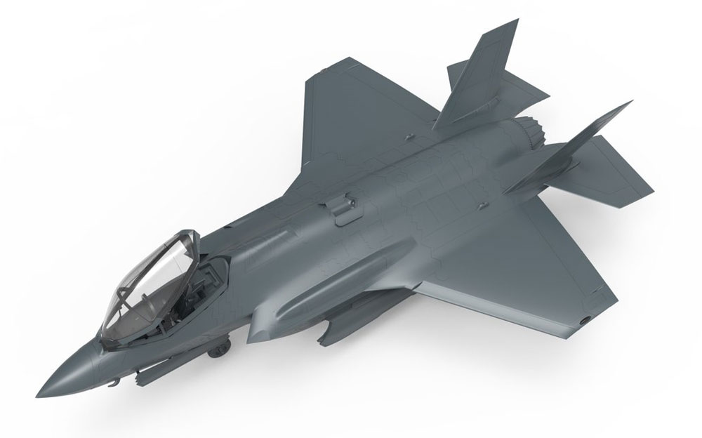 F-35A ライトニング 2 戦闘機 航空自衛隊プラモデル(MENG-MODELロンギセプス シリーズNo.LS-008)商品画像_2