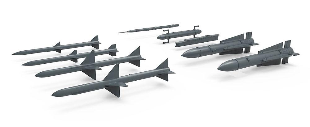 アメリカ 中長距離 空対空ミサイルプラモデル(MENG-MODELサプライ シリーズNo.SPS-044)商品画像_2