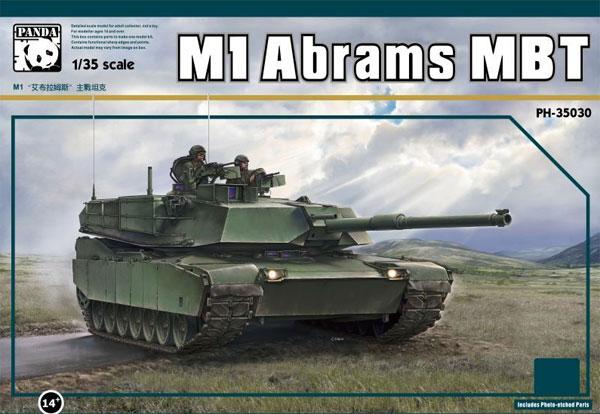 M1 エイブラムス 主力戦車プラモデル(パンダホビー1/35 CLASSICAL SCALE SERIESNo.PH35030)商品画像