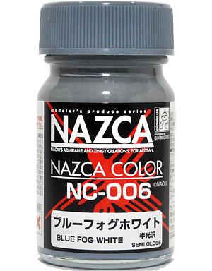 NC-006 ブルーフォグホワイト塗料(ガイアノーツNAZCA カラーシリーズNo.30721)商品画像