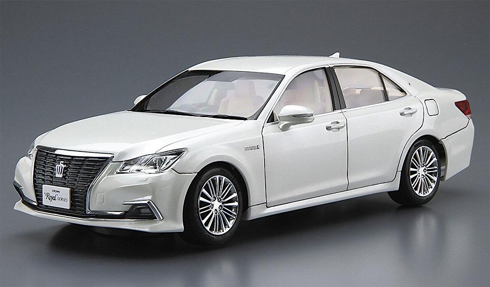 トヨタ GRS210/AWS210 クラウン ロイヤルサルーンG '15 (ホワイトパールクリスタルシャイン)プラモデル(アオシマ1/24 プリペイントモデル シリーズNo.SP50828)商品画像_2