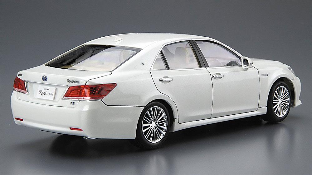 トヨタ GRS210/AWS210 クラウン ロイヤルサルーンG '15 (ホワイトパールクリスタルシャイン)プラモデル(アオシマ1/24 プリペイントモデル シリーズNo.SP50828)商品画像_3