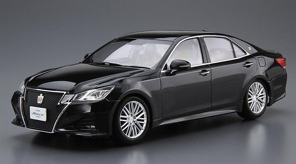 トヨタ GRS214/AWS210 クラウン アスリート '15 (プレシャスブラックパール)プラモデル(アオシマ1/24 プリペイントモデル シリーズNo.SP50835)商品画像_2