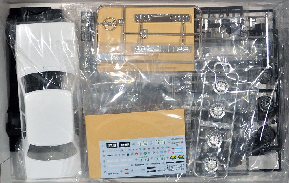ニッサン HGC211 スカイライン 2000GT-E・S '79プラモデル(アオシマ1/24 ザ・モデルカーNo.054)商品画像_1