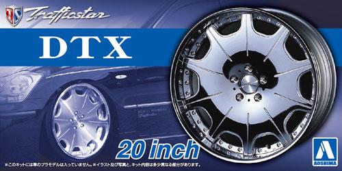 トラフィックスター DTX 20インチプラモデル(アオシマザ・チューンドパーツNo.062)商品画像