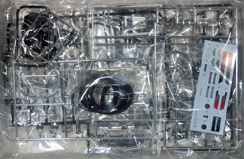 カワサキ Z400FX E4プラモデル(アオシマ1/12 バイクNo.046)商品画像_1