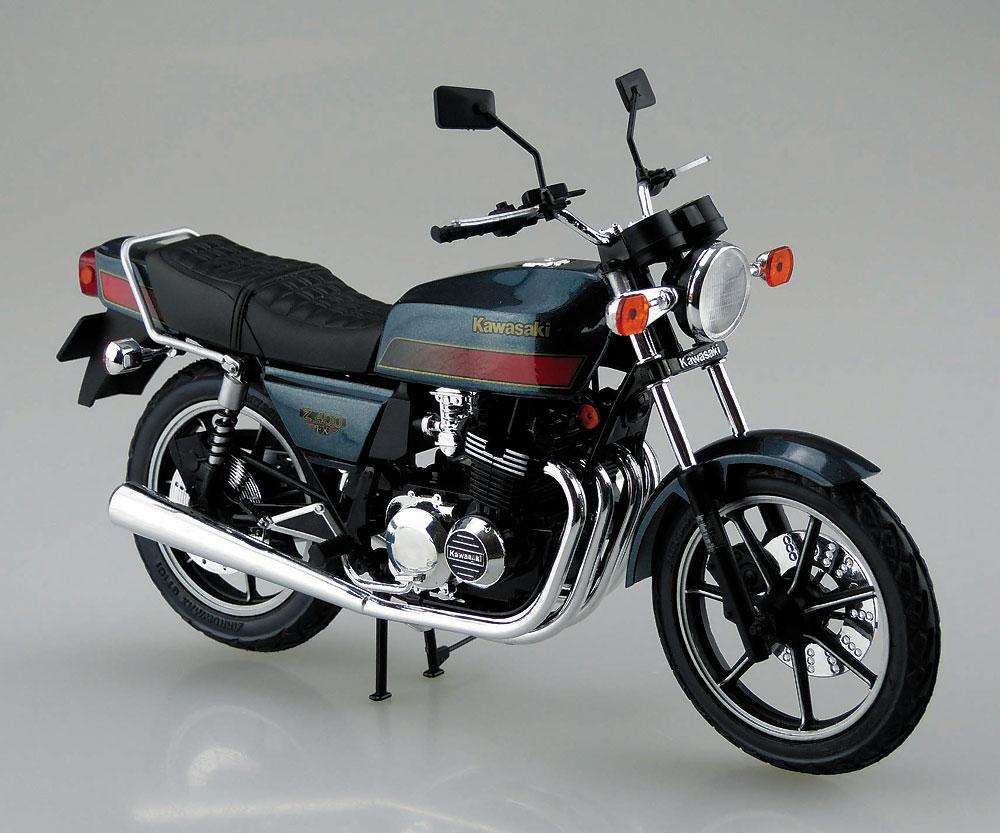 カワサキ Z400FX E4プラモデル(アオシマ1/12 バイクNo.046)商品画像_2