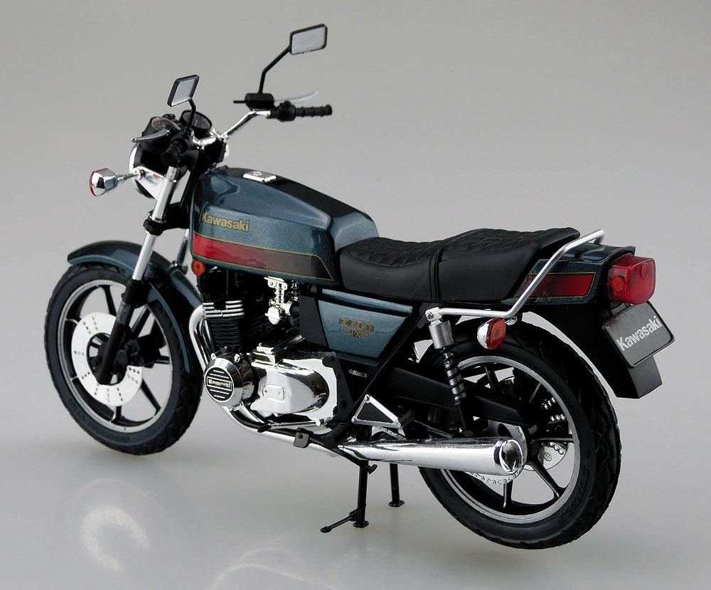 カワサキ Z400FX E4プラモデル(アオシマ1/12 バイクNo.046)商品画像_3
