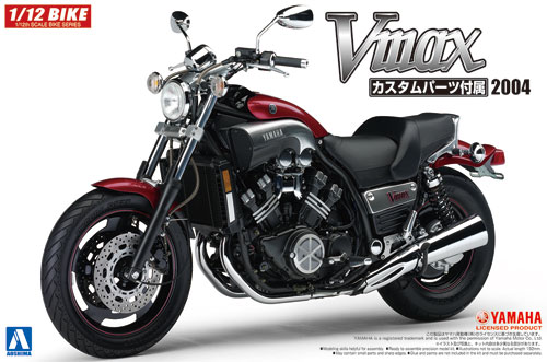 ヤマハ Vmax カスタムパーツ付きプラモデル(アオシマ1/12 バイクNo.047)商品画像