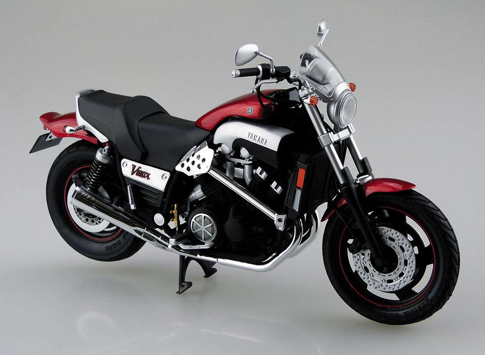 ヤマハ Vmax カスタムパーツ付きプラモデル(アオシマ1/12 バイクNo.047)商品画像_2