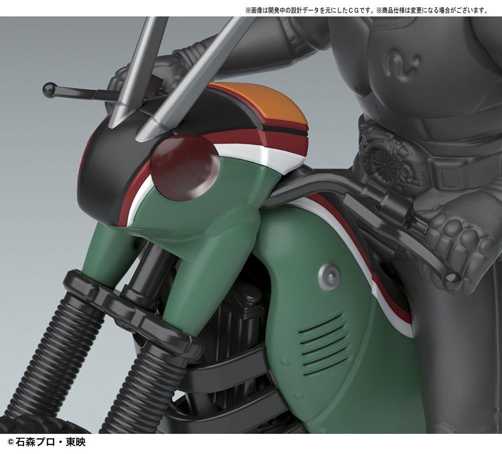 バトルホッパープラモデル(バンダイメカコレクション 仮面ライダーNo.003)商品画像_3
