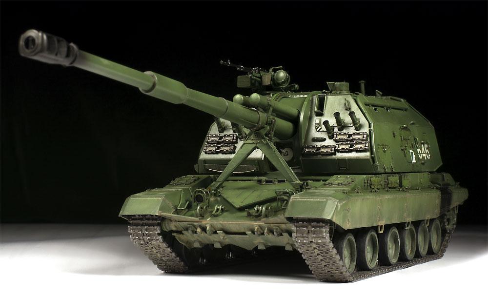 ロシア 2S19 152mm 自走榴弾砲 ムスタ-Sプラモデル(ズベズダ1/35 ミリタリーNo.3630)商品画像_1