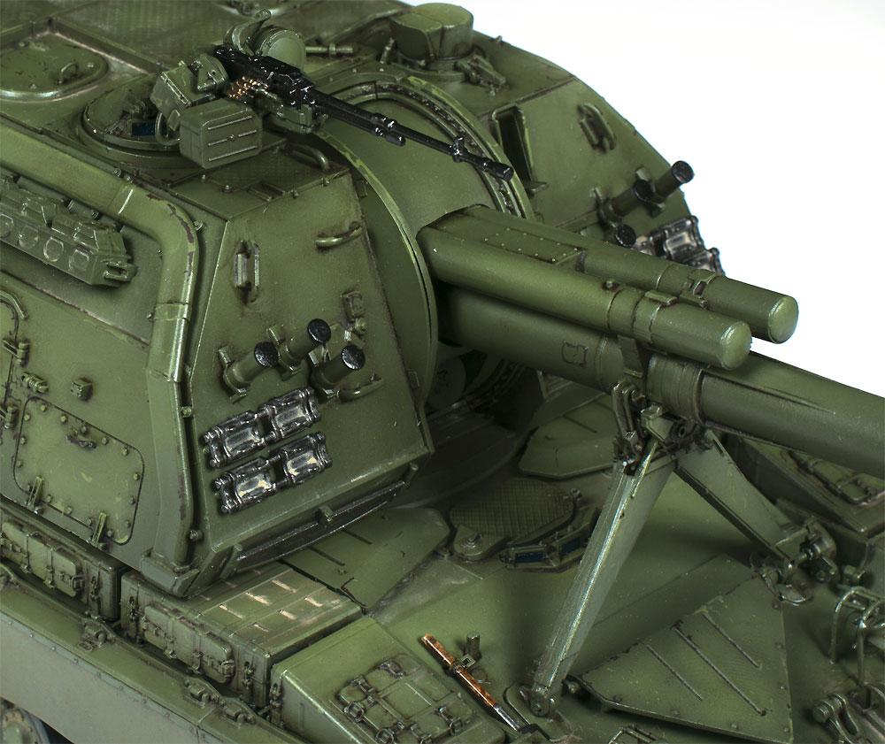 ロシア 2S19 152mm 自走榴弾砲 ムスタ-Sプラモデル(ズベズダ1/35 ミリタリーNo.3630)商品画像_2