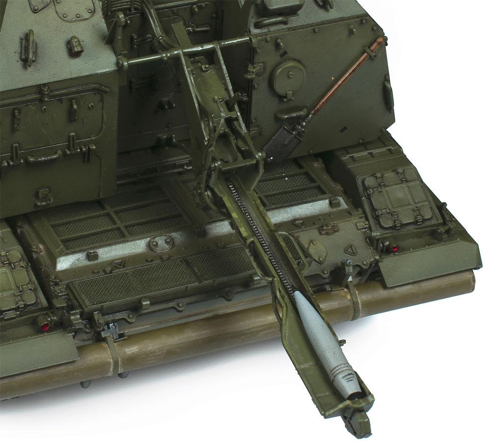 ロシア 2S19 152mm 自走榴弾砲 ムスタ-Sプラモデル(ズベズダ1/35 ミリタリーNo.3630)商品画像_3