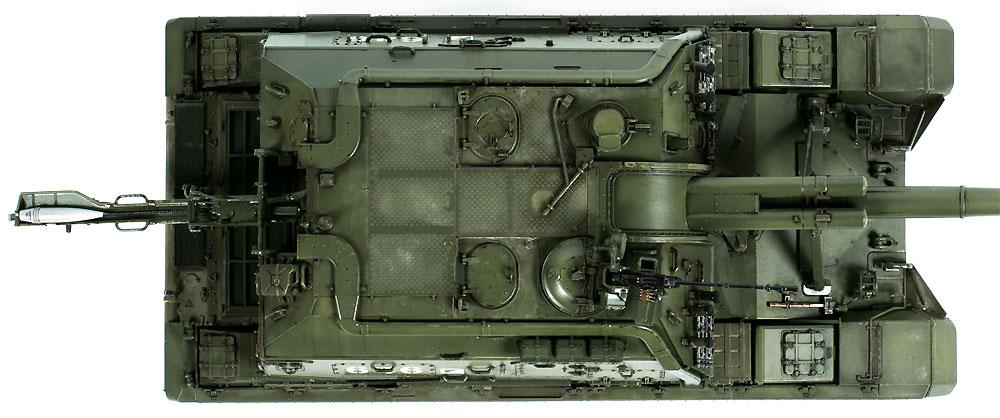ロシア 2S19 152mm 自走榴弾砲 ムスタ-Sプラモデル(ズベズダ1/35 ミリタリーNo.3630)商品画像_4
