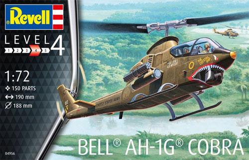 ベル AH-1G コブラプラモデル(レベル1/72 飛行機No.04956)商品画像