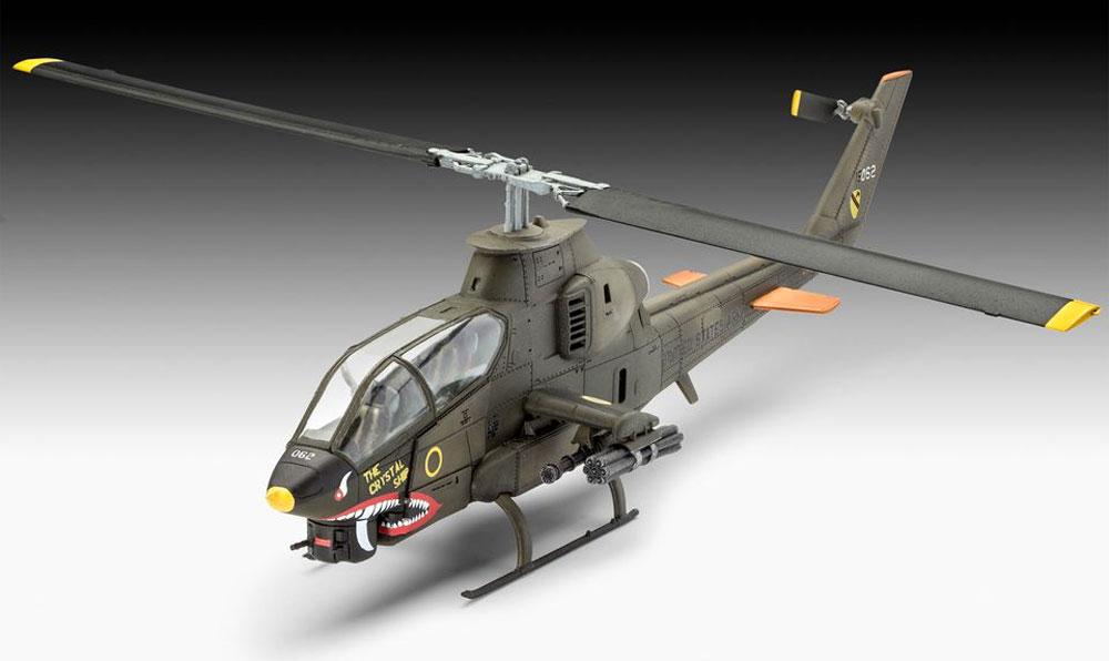 ベル AH-1G コブラプラモデル(レベル1/72 飛行機No.04956)商品画像_1