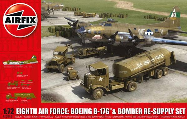 第8空軍爆撃団セット B-17G & 爆撃補給セットプラモデル(エアフィックス1/72 AFVNo.A12010)商品画像