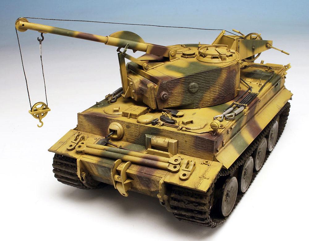 ドイツ ベルゲパンツァー ティーガー 1 & ボルクヴァルト 4Aプラモデル(ドラゴン1/35 '39-'45 SeriesNo.6865)商品画像_3