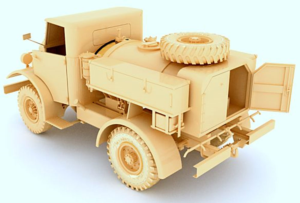 CMP F15 ウォーター トラック (No.11キャブ 15cwt 4X2)プラモデル(ミラーモデルズ1/35 AFVモデルNo.35166)商品画像_3