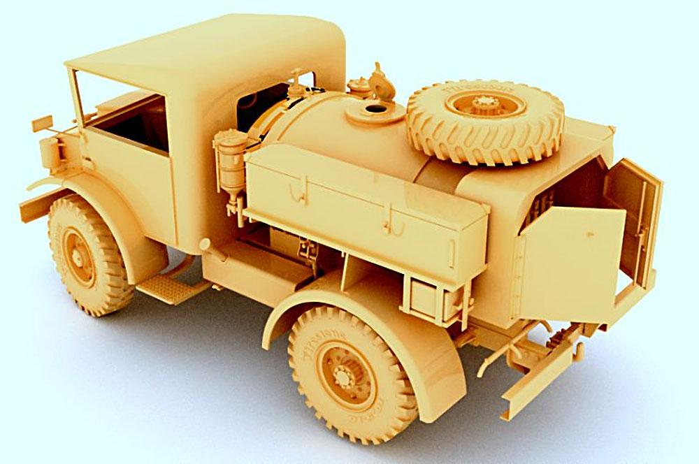 CMP F15A ウォーター トラック (No.13キャブ 15cwt 4X4)プラモデル(ミラーモデルズ1/35 AFVモデルNo.35167)商品画像_3