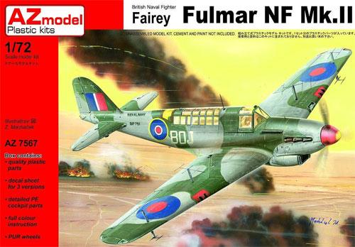 フェアリー フルマー NF Mk.2プラモデル(AZ model1/72 エアクラフト プラモデルNo.AZ7567)商品画像