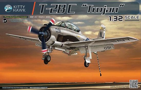 T-28C トロージャンプラモデル(キティホーク1/32 エアモデルNo.KH32015)商品画像