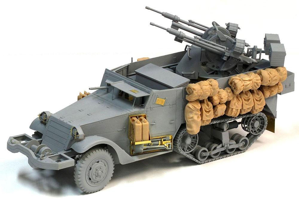 IDF M3ハーフトラック TCM-20 対空システム搭載型プラモデル(ドラゴン1/35 MIDDLE EAST WAR SERIESNo.3586)商品画像_3