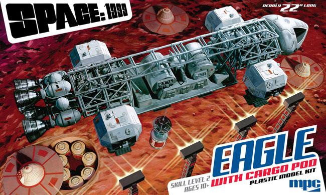 スペース 1999 イーグルトランスポーター w/カーゴポッドプラモデル(MPCプラスチックモデルキットNo.MPC838/06)商品画像
