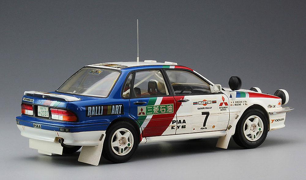 三菱 ギャラン VR-4 1992 サファリラリープラモデル(ハセガワ1/24 自動車 限定生産No.20307)商品画像_4