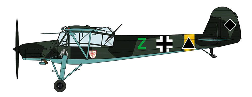 フィーゼラー Fi156C シュトルヒ 第1地上攻撃航空団プラモデル(ハセガワ1/32 飛行機 限定生産No.08250)商品画像_3