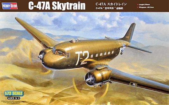 C-47A スカイトレインプラモデル(ホビーボス1/72 エアクラフト プラモデルNo.87264)商品画像