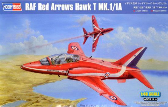 イギリス空軍 レッドアローズ ホーク T.1/1Aプラモデル(ホビーボス1/48 エアクラフト プラモデルNo.81738)商品画像