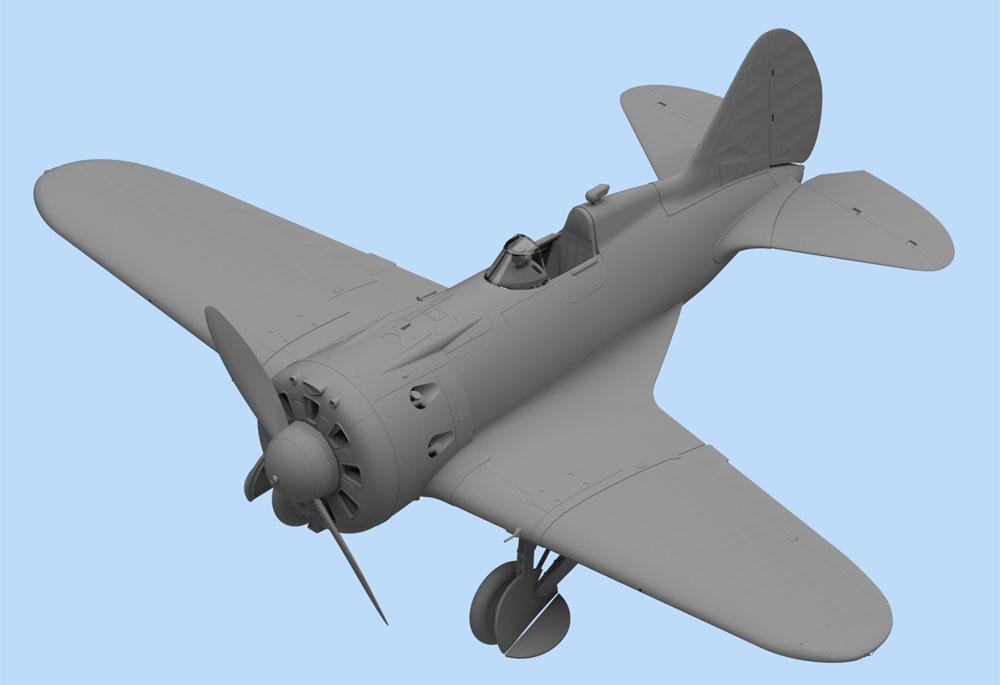 ポリカルポフ I-16 タイプ24プラモデル(ICM1/32 エアクラフトNo.32001)商品画像_2