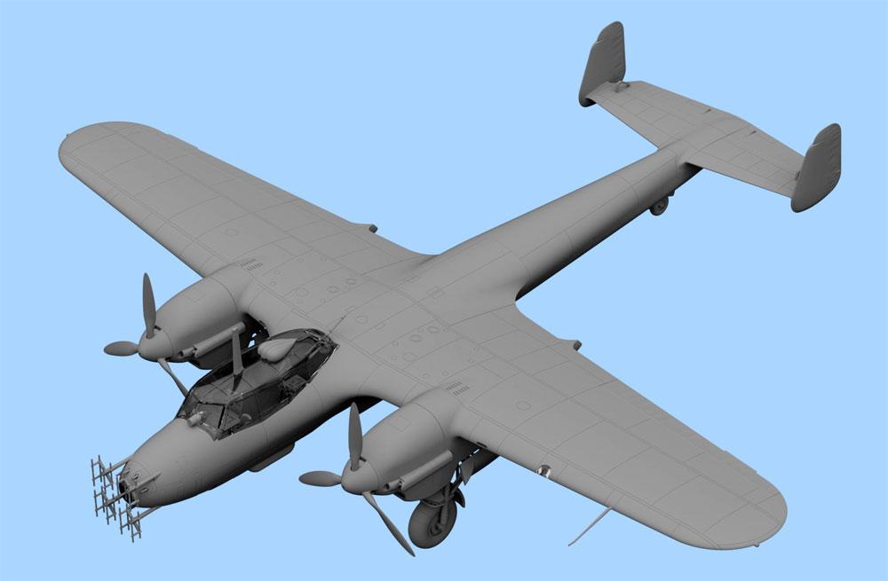 ドルニエ Do215B-5 夜間戦闘機プラモデル(ICM1/72 エアクラフト プラモデルNo.72306)商品画像_2