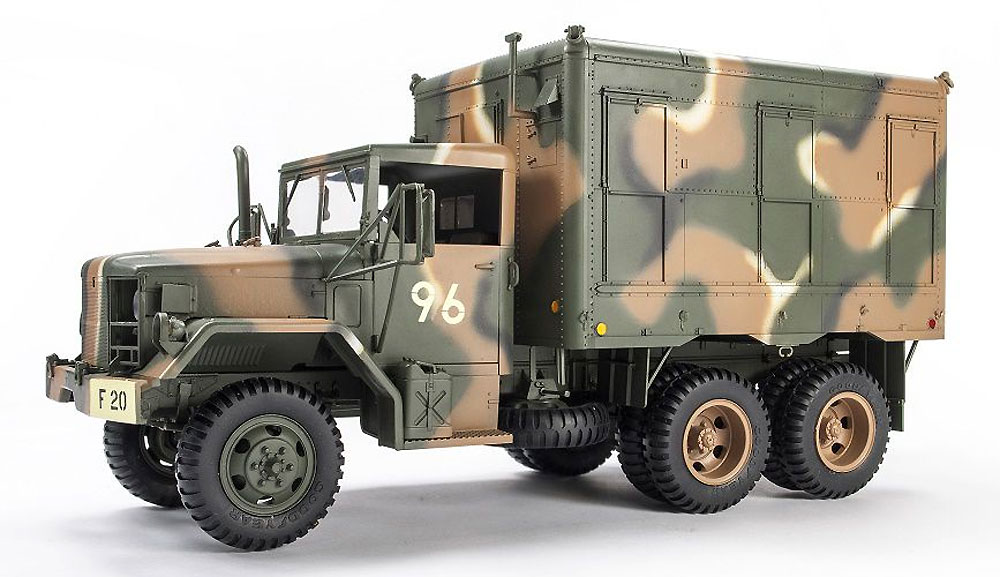 M109A3 パネルバン型 カーゴトラックプラモデル(AFV CLUB1/35 AFV シリーズNo.AF35304)商品画像_2