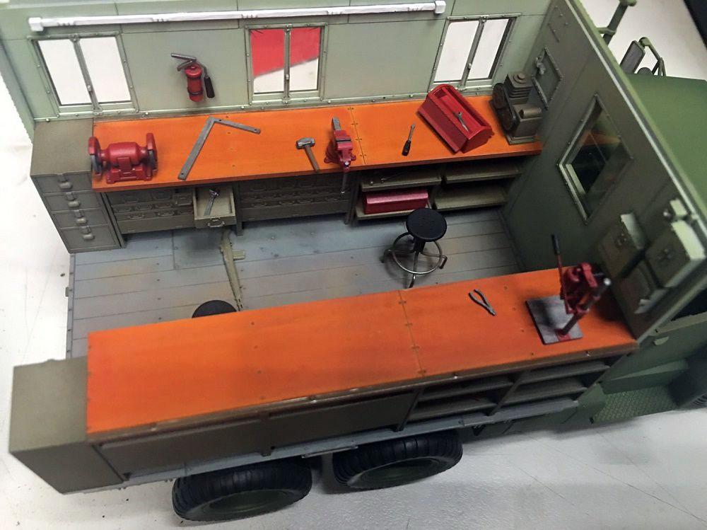 M109A3 パネルバン型 カーゴトラックプラモデル(AFV CLUB1/35 AFV シリーズNo.AF35304)商品画像_4