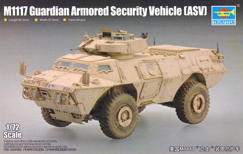 M1117 ガーディアン 装甲警備車 (ASV)プラモデル(トランペッター1/72 AFVシリーズNo.07131)商品画像